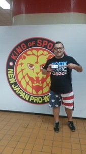 Zamies attended New Japan Pro Wrestling Presents - G1 Special in San Francisco - Live Professional Wrestling on Jul 7th 2018 via VetTix