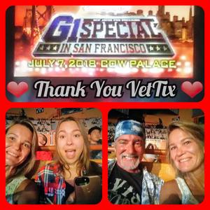 Julie attended New Japan Pro Wrestling Presents - G1 Special in San Francisco - Live Professional Wrestling on Jul 7th 2018 via VetTix