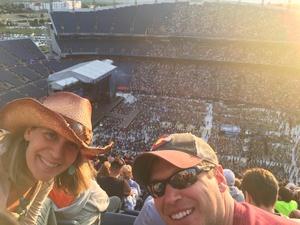 Brian attended Kenny Chesney: Trip Around the Sun Tour on Jun 30th 2018 via VetTix