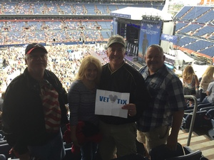 William attended Kenny Chesney: Trip Around the Sun Tour on Jun 30th 2018 via VetTix