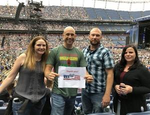 Justin attended Kenny Chesney: Trip Around the Sun Tour on Jun 30th 2018 via VetTix