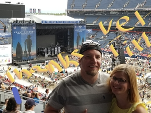 PETER attended Kenny Chesney: Trip Around the Sun Tour on Jun 30th 2018 via VetTix