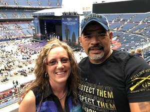 Angela attended Kenny Chesney: Trip Around the Sun Tour on Jun 30th 2018 via VetTix