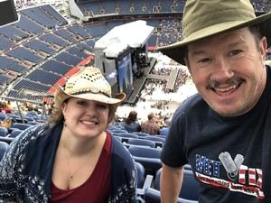 Drew attended Kenny Chesney: Trip Around the Sun Tour on Jun 30th 2018 via VetTix