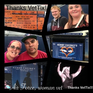 Shawn attended Kenny Chesney: Trip Around the Sun Tour on Jun 30th 2018 via VetTix
