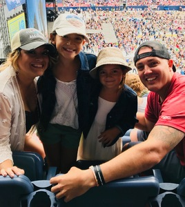 Victor attended Kenny Chesney: Trip Around the Sun Tour on Jun 30th 2018 via VetTix