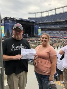 Jon attended Kenny Chesney: Trip Around the Sun Tour on Jun 30th 2018 via VetTix