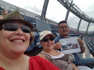 Raymond attended Kenny Chesney: Trip Around the Sun Tour on Jun 30th 2018 via VetTix