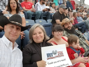 Michele attended Kenny Chesney: Trip Around the Sun Tour on Jun 30th 2018 via VetTix