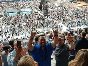 Billy attended Kenny Chesney: Trip Around the Sun Tour on Jun 30th 2018 via VetTix