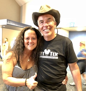 Leona attended Kenny Chesney: Trip Around the Sun Tour on Jun 30th 2018 via VetTix