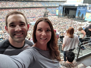 Branden attended Kenny Chesney: Trip Around the Sun Tour on Jun 30th 2018 via VetTix