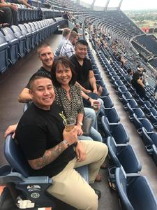 Thanhphong attended Kenny Chesney: Trip Around the Sun Tour on Jun 30th 2018 via VetTix
