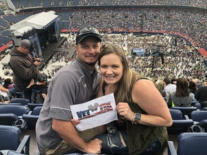 Jenn attended Kenny Chesney: Trip Around the Sun Tour on Jun 30th 2018 via VetTix
