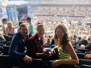 Thomas attended Kenny Chesney: Trip Around the Sun Tour on Jun 30th 2018 via VetTix