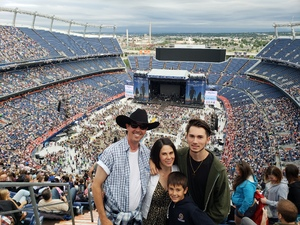John attended Kenny Chesney: Trip Around the Sun Tour on Jun 30th 2018 via VetTix