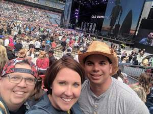 Cyrus attended Kenny Chesney: Trip Around the Sun Tour on Jun 30th 2018 via VetTix