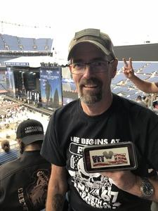 Allen attended Kenny Chesney: Trip Around the Sun Tour on Jun 30th 2018 via VetTix