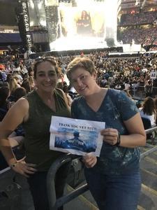 Kyla attended Taylor Swift Redemption Stadium Tour on Jul 27th 2018 via VetTix