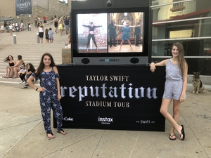 Rhiannon attended Taylor Swift Redemption Stadium Tour on Jul 27th 2018 via VetTix