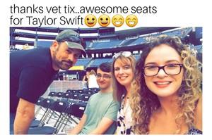 Philip attended Taylor Swift Redemption Stadium Tour on Jul 27th 2018 via VetTix