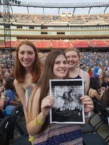 AnneMarie attended Taylor Swift Redemption Stadium Tour on Jul 27th 2018 via VetTix
