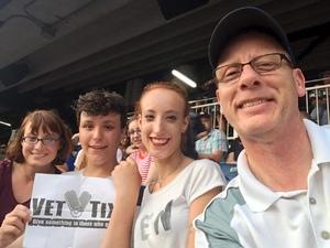 Steven attended Taylor Swift Redemption Stadium Tour on Jul 27th 2018 via VetTix
