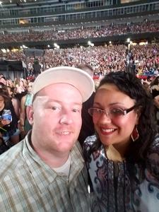 Ailyn attended Taylor Swift Redemption Stadium Tour on Jul 27th 2018 via VetTix