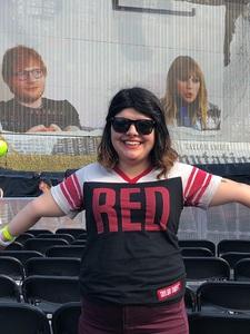 Richard attended Taylor Swift Redemption Stadium Tour on Jul 27th 2018 via VetTix