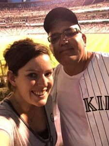 Donald attended Colorado Rockies vs. Arizona Diamondbacks - MLB on Jul 11th 2018 via VetTix