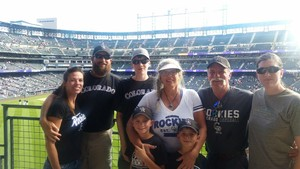 Katie attended Colorado Rockies vs. Arizona Diamondbacks - MLB on Jul 11th 2018 via VetTix