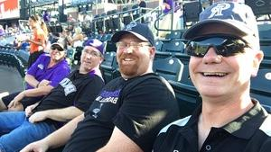 Joseph attended Colorado Rockies vs. Arizona Diamondbacks - MLB on Jul 11th 2018 via VetTix