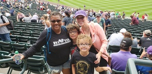 Jennifer attended Colorado Rockies vs. Arizona Diamondbacks - MLB on Jul 11th 2018 via VetTix