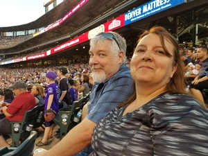 Thomas attended Colorado Rockies vs. Arizona Diamondbacks - MLB on Jul 11th 2018 via VetTix