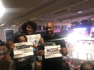 Duane attended Pfl 3 - Shields vs. Cooper - Professional Mixed Martial Arts - Presented by Professional Fighters League on Jul 5th 2018 via VetTix