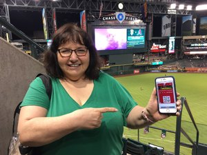 Esther attended Arizona Diamondbacks vs. Texas Rangers - MLB on Jul 31st 2018 via VetTix
