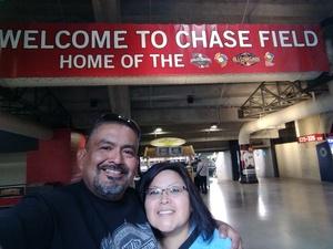 Jason attended Arizona Diamondbacks vs. Texas Rangers - MLB on Jul 31st 2018 via VetTix