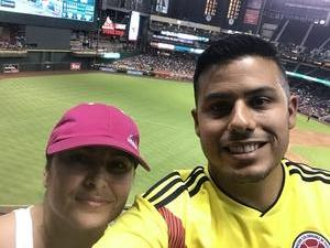 giovanni attended Arizona Diamondbacks vs. Texas Rangers - MLB on Jul 31st 2018 via VetTix