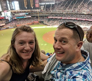 David attended Arizona Diamondbacks vs. San Francisco Giants - MLB on Aug 4th 2018 via VetTix
