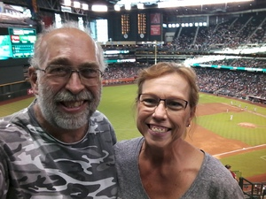 Bruce attended Arizona Diamondbacks vs. San Francisco Giants - MLB on Aug 4th 2018 via VetTix