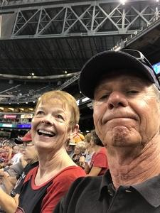 Michael attended Arizona Diamondbacks vs. San Francisco Giants - MLB on Aug 4th 2018 via VetTix