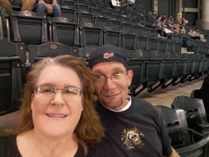 Amelia attended Arizona Diamondbacks vs. San Francisco Giants - MLB on Aug 4th 2018 via VetTix