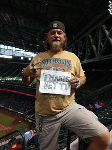 david attended Arizona Diamondbacks vs. Philadelphia Phillies - MLB on Aug 7th 2018 via VetTix