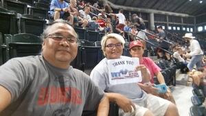 Wil attended Arizona Diamondbacks vs. Philadelphia Phillies - MLB on Aug 7th 2018 via VetTix