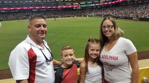 John attended Arizona Diamondbacks vs. Philadelphia Phillies - MLB on Aug 7th 2018 via VetTix