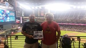 Wil attended Arizona Diamondbacks vs. Los Angeles Angels - MLB on Aug 22nd 2018 via VetTix