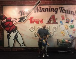 Jose attended Arizona Diamondbacks vs. Los Angeles Angels - MLB on Aug 22nd 2018 via VetTix