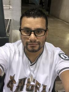 Adolfo attended Arizona Diamondbacks vs. Los Angeles Angels - MLB on Aug 22nd 2018 via VetTix