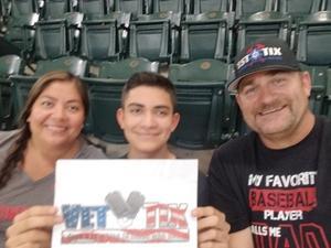 Joe attended Arizona Diamondbacks vs. Los Angeles Angels - MLB on Aug 22nd 2018 via VetTix