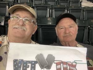 Ken attended Arizona Diamondbacks vs. Los Angeles Angels - MLB on Aug 22nd 2018 via VetTix